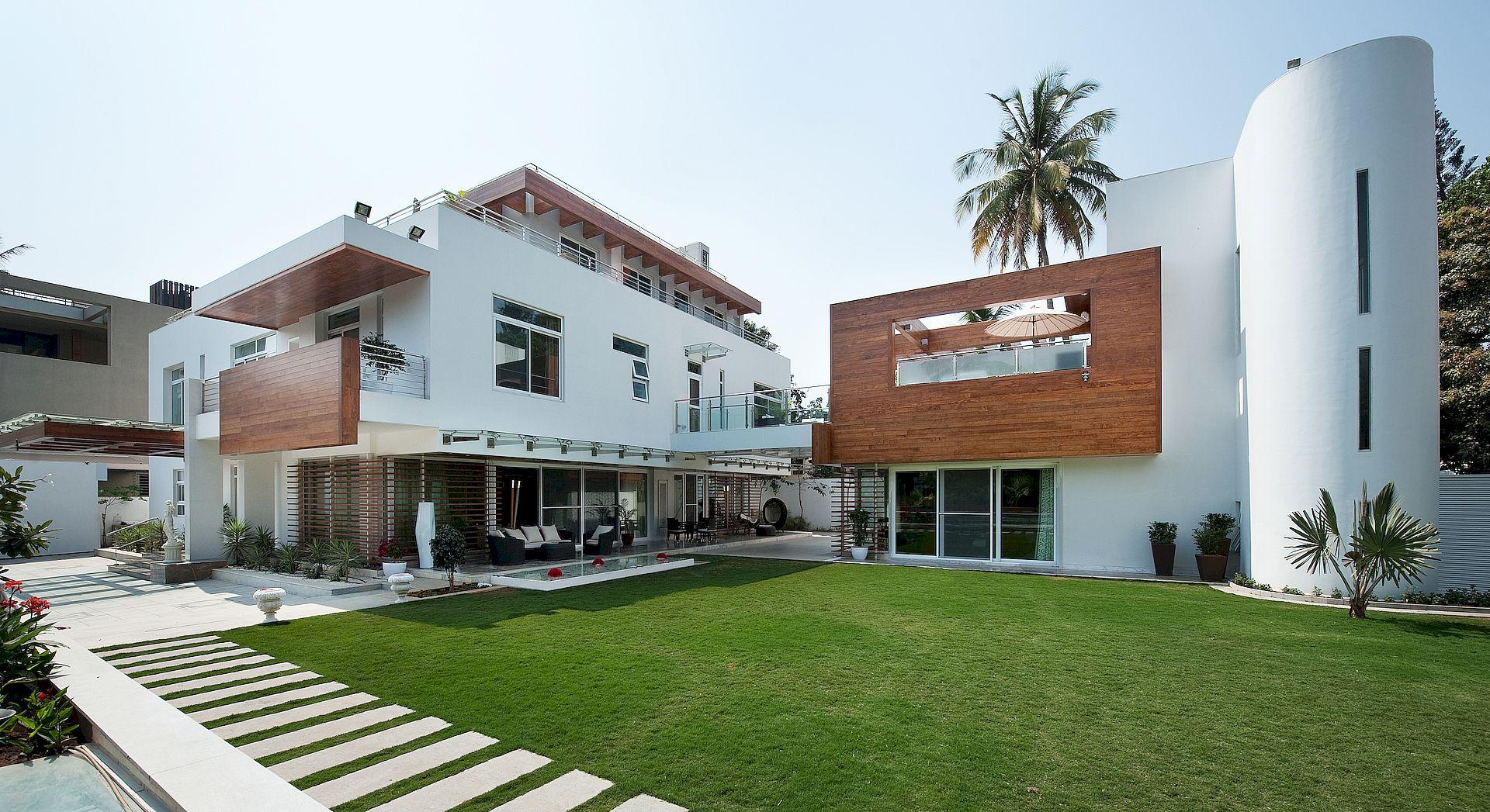 red archs Mr. Manjarekar's Residence